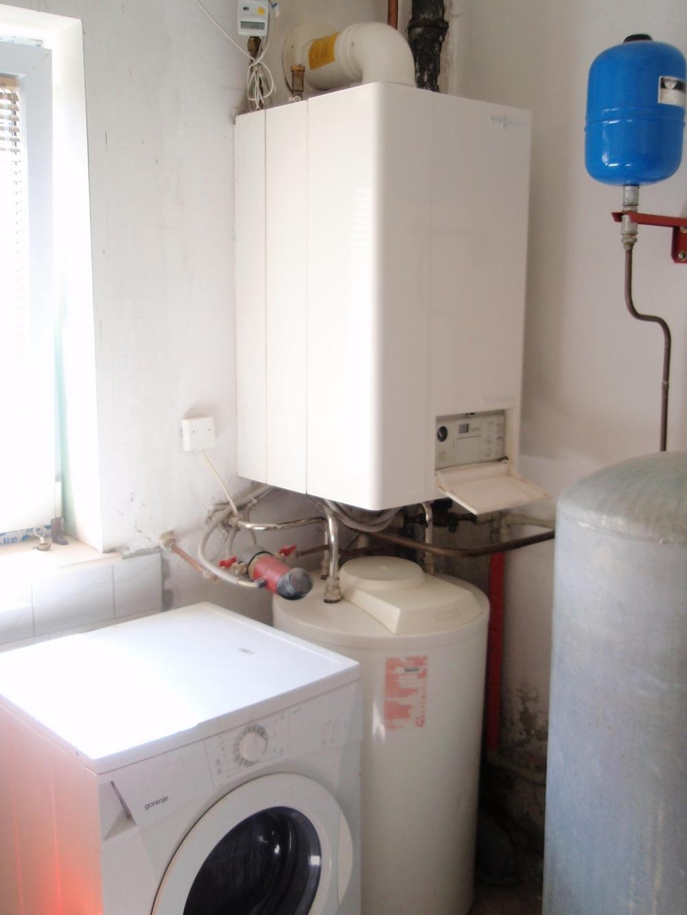 Kondenzacijska kotlovnica prije izvođenja radova