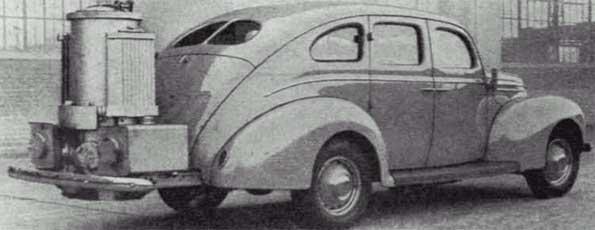 Automobil DKW iz 1934. na pirolizu